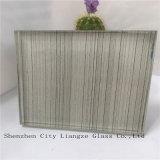 vetro laminato di vetro/sicurezza nera del mestiere dello specchio di 10mm+Silk+5mm/vetro di vetro Tempered/arte