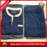 Albornoz del algodón de la línea aérea/camisa de dormir/traje/pijamas el dormir