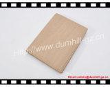 Имитируйте деревянную крышку пасспорта PU, бумажник пасспорта держателя RFID пасспорта