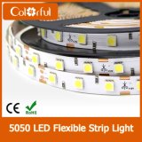 Luz de tira flexible brillante estupenda de DC12V SMD5050 LED