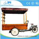 Розничная тележка MOQ 1 электронных или педали кофеего Bike еды