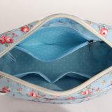 Sac floral de dames de configurations de toile imperméable à l'eau de PVC (99135)