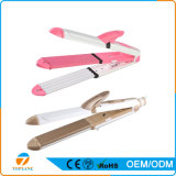 Multifuncional 3 em 1 Straightener do cabelo Flat Iron and Hair Curling Iron
