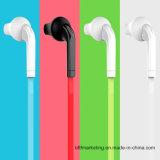 Sport-Kopfhörer mit Mic, der Earbuds mit Lautstärkeregler 3.5mm für Smartphones laufen lässt