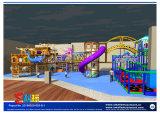 Unterseeisches Spielplatz-Gerät mit Plättchen-Kombination