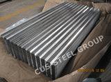 Feuilles de toiture en métal de Gi/plaque d'appui ondulée galvanisée