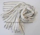 Stole van de Streep van Vertial van Colorinterwoven/Unisex-Sjaal (HWBVS345)