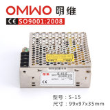Ein-Output15w S-15 Schaltungs-Stromversorgung