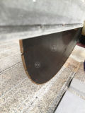 Cortadora de piedra con de cuatro palas para el proceso de la columna