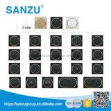 Interruptor de acrílico de la pared de la alta calidad del diseño blanco del círculo