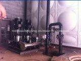 Sistema de fonte variável da água da conversão com controle do PLC