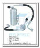 Essiccatore di alluminio personalizzato del filtrante per condizionamento d'aria automatico 60*165