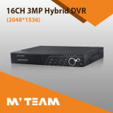 L'audio allarme di P2p ha supportato i registratori della Manica DVR di HD 3MP 16 (6516H300)
