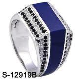 De Zilveren Ringen Van uitstekende kwaliteit van de Mensen van Hotsale van de fabriek