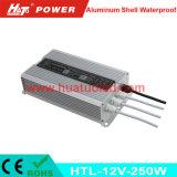 alimentazione elettrica impermeabile delle coperture di alluminio costanti LED di tensione 12V-250W