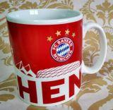 напечатанные таможней дешевые большие керамические чашки чая 12oz