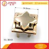 Jinzi Form zwei Teil-Beutel-gesetzter Metalltorsion-Verschluss