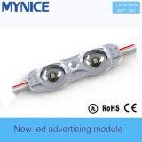 Модуль Advertisting впрыски объектива СИД влияния Bat-Wing UL DC12V 0.5W SMD2835 IP67 Ce для светлых коробок