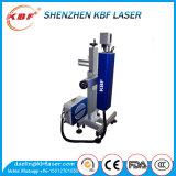 Láser de fibra automática máquina de la marca para los materiales no metálicos