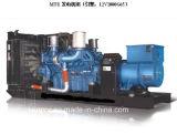 Piedi silenziosi del generatore 313kVA-3000kVA 50Hz 60Hz di Kanpor Kpmt Sereis i 20 hanno messo in contenitori Genset diesel alimentato dal MTU tedesco