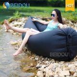Aufblasbarer Luft-Sofa-Bett-kampierender Hängematten-Bohnen-Schlaf-Großhandelsbeutel