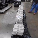 Piste en caoutchouc (200*72*42) à l'utilisation d'excavatrice/à couleur grise procurables