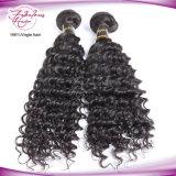 Do Virgin barato profundo da onda da boa qualidade o cabelo malaio tece
