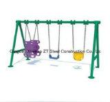 공원과 유치원에서 대중 옥외 적당한 장비를 위한 아이들 시소