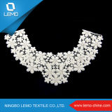 Hot Sale Fashional algodão exterior Crocheted Lace Collar Lace