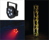 Hohe Leistung RGBW 5X10W 4in1 LED Mega PAR Light für Stage Lighting