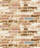 Fornecedores Home luxuosos do papel de parede do tijolo 3D da decoração de China