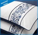 6PCSエジプト綿の刺繍のキルトカバー寝具