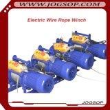 販売のためのワイヤーロープの電気ウィンチ