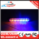 La superficie d'avvertimento della griglia del LED monta la testa chiara