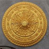 Viktorianischer Polyurethan aufwändige PU-Decken-Medaillons Hn-022