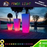 Potenciômetros leves diodo emissor de luz iluminados fulgor do plantador