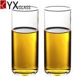 Taza de cristal de un sólo recinto de la taza de la cerveza del jugo del café de la leche de la alta calidad de la taza de Drinkware del Borosilicate a prueba de calor