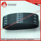 SMTの予備品224-2gt-20の黒いゴム製タイミングベルト
