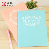 Cubierta de papel del cuaderno