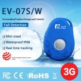 Изготовление отслежывателя EV-07s Китая GPS с падает вниз бдительный GPS отслеживая приспособление для пожилого локатора GPS