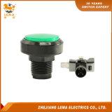 전기 녹색 LED에 의하여 분명히되는 누름단추식 전쟁 스위치 Pbs-004