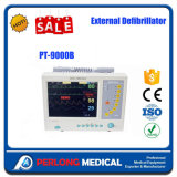 Moniteur externe multifonctionnel de défibrillateur d'équipement médical de coût bas