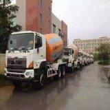 6*4 feito no caminhão do misturador do equipamento HOWO da maquinaria de construção de China na boa condição de trabalho
