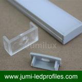 Form der Aufputzmontage-U nehmen flach 20mm LED die Strangpresßlinge für LED-Streifen ab