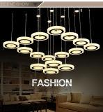 Modernes Hauptanhänger-Licht des hotel-Dekoration-Leuchter-LED