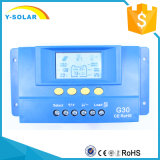 PWM regolatore della carica di PV 30A/60A/80A delle cellule di comitato solare 12V/24V di G30
