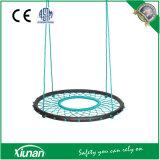 Diâmetro assento redondo do balanço da rede do Web de aranha de 100mm para miúdos