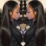 Silky Straight Full Lace Wig/Lassos Front Wig