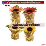 Солнцецветы цветка цветка венчания декоративные самонаводят декор (G8095)