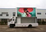 Montadas sobre camión móvil de la pantalla LED de publicidad Hecho con ahorro de energía de los módulos P10 (3.8V)